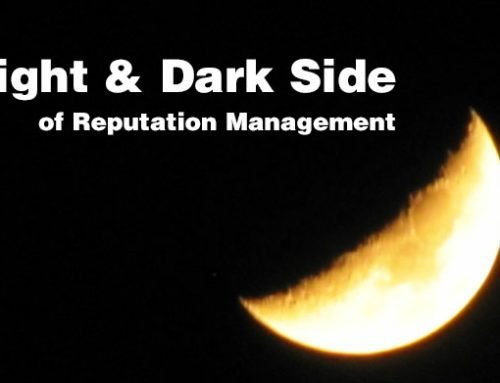 The Bright and Dark Sides of Reputation Management!