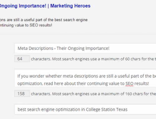 Meta Descriptions – Their Ongoing Importance!